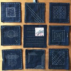 """Gefällt 339 Mal, 16 Kommentare - the Makerie (@themakerie) auf Instagram: """"Super incredible work & thoughtful, slow stitching happened in our Sashiko Mending workshop taught…"""""""