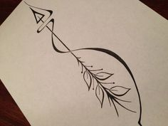 Arrow Tattoo Designs On White Page | Tattoobite.com