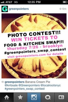 #Greenpointers_Swap_Contest on #Instagram