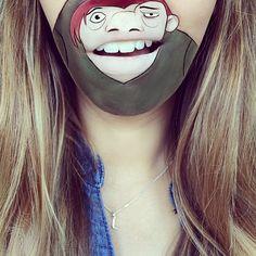 New_Cartoon_Lip_Art_Creations_by_Makeup_Artist_Laura_Jenkinson_2015_05