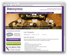 Live Express site
