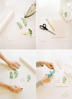 how to make wax paper candles | once wed | photo by ali harper http://www.oncewed.com/diy/diy-weddingwax-paper-lanterns/