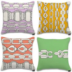 Terry Rosen's Pitch-Perfect Pastel Pillows