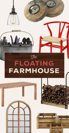 The Floating Farmhouse: A stay at this house consists of a pizza dinner baked in a floor-to-ceiling, rusted-steel oven which is then eaten against a wall of skyscraper glass beneath wooden beams from the 1800s. Unlike any other rustic home you've ever seen, the floating farm is one that you cannot miss. Shop Now at dotandbo.com!