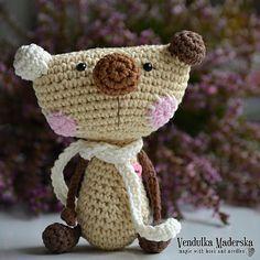 Crochet teddy bear crochet pattern DIY por VendulkaM en Etsy