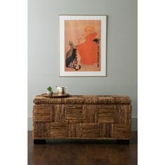 East At Main's Mulberry Brown Abaca Bench-TT-SY-MR401 - The Home Depot