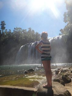 Waterfalls! at Tunuy-an Falls, Philippines