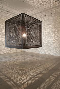 Anila Quayyum Agha's Installations Illustrate Dualities Using Shadows | Hi-Fructose Magazine