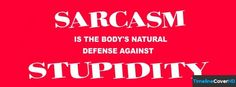 Sarcasm Is Timeline Cover 850x315 Facebook Covers - Timeline Cover HD