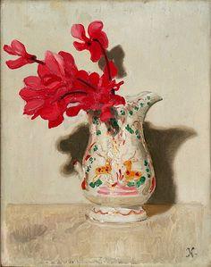 Nicholson, William (1872-1949) - 1937c. Cyclamen (The Courtland Institute of Art, London)