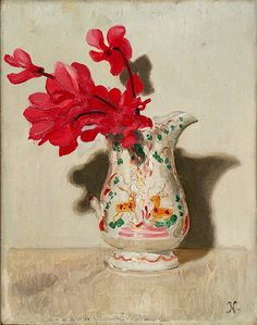 Nicholson, William (1872-1949) - 1937c. Cyclamen (The Courtland Institute of Art, London)