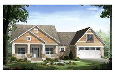 This plan is perfect.  Not too large at 1800 sq. ft - attached garage (add a third bay for workshop?).  Perfect master suite.  Make flex space huge pantry on kitchen side with room for dog crates.  LOVE THIS HOUSE!! House Plan 21-247