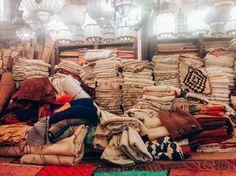 Shopping in Marrakech. / Wedding Style Inspiration / LANE