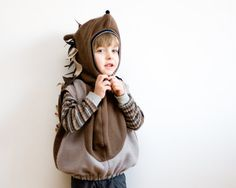 Fairy Tale Hedgehog Costume, Party Porcupine Costume in brown and grey, Halloween Costume for Boys or Girls sur Etsy, 37,61 €