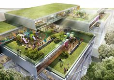 Major Healthcare Development in Dublin, Ireland / NBBJ Architects + Murray O'Laoire/Brian O'Connell Associates