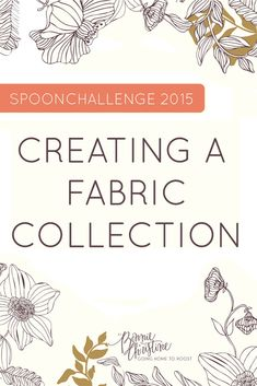 We're thrilled to announce a new SpoonChallenge together with our friend Bonnie Christine–Creating a Fabric Collection! For four weeks starting July we'll be sharing everything you need to know to design the most beautiful fabric collection. Design Textile, Design Floral, Textile Prints, Textile Patterns, Fabric Design, Print Patterns, Lino Prints, Floral Patterns, Block Prints