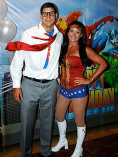clark kent inspired family hallowwen costumes | From the Mad Hatter to Justin Bieber, see your star-inspired Halloween ...