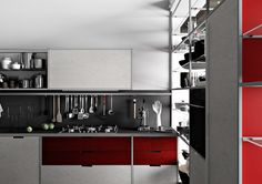 Fitted kitchens | Kitchen systems | Meccanica 3 | Demode. Check it out on Architonic