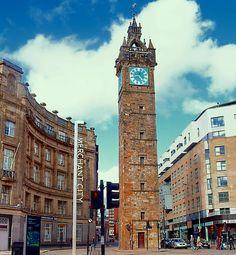 Merchant City in Glasgow, Scotland