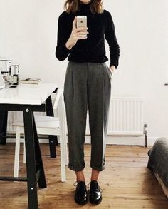 Outfit for business casual recruitment of female students business casual out . nature fashion travel passion craft Outfit for business casual student recruitment Business casual out… – business casual craft fashion female hellowinter natur Mode Outfits, Fall Outfits, Autum Outfits 2018, Looks Style, Style Me, Black Style, Classy Style, Outfit Trends, Business Casual Outfits