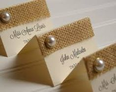 Image result for rustic table seating name cards