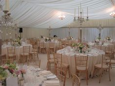 Traditional Wedding Marquee - The Hempel Hotel