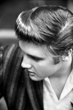 "Presley listened to ""Don't Be Cruel,"" ""You Ain't Nothin' but a Hound Dog"" and ""Any Way You Want Me"" — recorded at the RCA Victor Studio in Manhattan on East 24th — on July 2, 1956."
