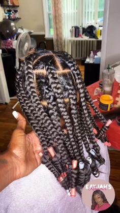 Little Girl Braids, Box Braids, Protective Styles, Black Hair, Natural Hair Styles, Dreadlocks, Hairstyles, Beauty, Kids
