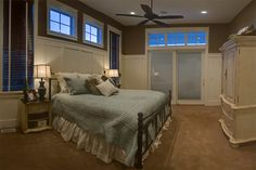 Lane Myers Construction Custom Home Builder. This is similar to my master bedroom!!