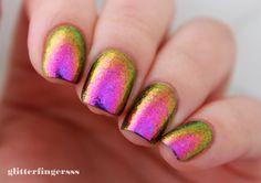 Glitterfingersss: Lakkteszt   ILNP - Neon Rosebud