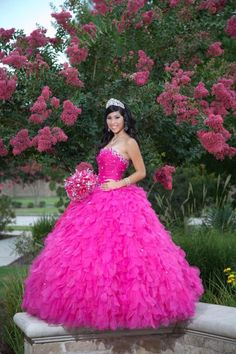 Quinceanera Garden Photography (photo by Jesus Garza Photography)