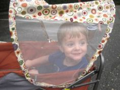 Great see through window that offers protection yet lets the kids see the world! Kids Wagon, Lunch Box, Window, Windows, Bento Box, Beach Cart