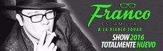 Viene el show de Franco Escamilla y su Diablo Squad  espéralo en el mes de Mayo!