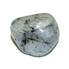 Tourmalated Quartz is clear or milky Quartz with black Tourmaline needles. The clear quartz is an amplifier while the black tourmaline is a cleansing, grounding influence.