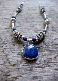 Hey, I found this really awesome Etsy listing at https://www.etsy.com/ca/listing/269340535/lapis-lazuli-necklace-sterling-silver