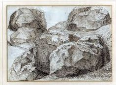 Image result for pencil drawing rocks Drawing Rocks, Graphite Art, Realistic Drawings, Pencil Drawings, Arts And Crafts, Trees, Wood, Painting, Image