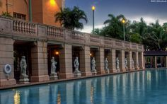 The famous pool where Esther Williams once swam. The Biltmore Hotel in Coral Gables, Florida