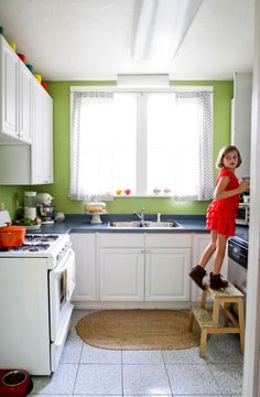 The Pinele Housewife S Hy Home Green Kitchenkitchen Colorskitchen