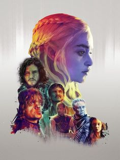 The Geeky Nerfherder: Cool Art: 'Game Of Thrones' by Richard Davies
