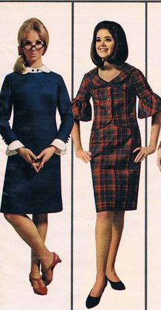 Wards catalog 1966. Cay Sanderson and Colleen Corby.