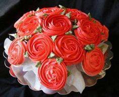 Tutorial para hacer Bouquet de Cupcakes.
