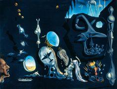 Melancholy, Atomic, Uranic Idyll, 1945, Salvador Dalí