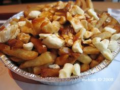 """Poutine from Ashtons (French fries with gravy and cheese curds) - """"poutine central: ashton"""""""