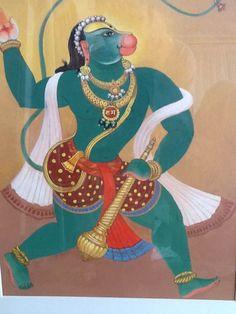 GLN Simha - Hanuman, The Beloved Monkey God