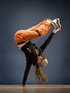 Hip Hop includes popping (flexing the shoulder, neck or hips), locking (striking-a-pose) and breakdancing (this is where it can get acrobatic).