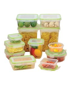 Take a look at this Click & Lock 24-Piece Storage Container Set today!