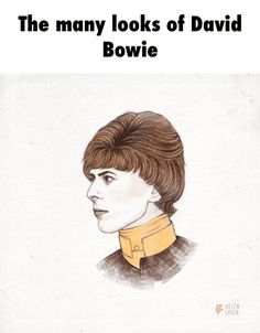 The many looks of David Bowie