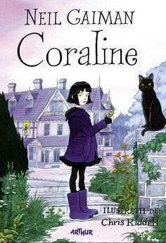 Buy Coraline by Neil Gaiman at Mighty Ape NZ. The bewitching tenth-anniversary edition of the classic children's novel Coraline by Neil Gaiman, featuring spellbinding illustrations from Chris Ridd. Coraline Jones, Coraline Book, Coraline Neil Gaiman, The Graveyard Book, Books To Read, My Books, Love Book, Great Books, Book Worms