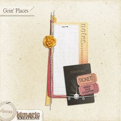 kimeric kreations: Goin' Places journaling cluster to share tonight!