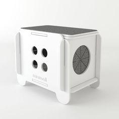 Toquinha de chão CatStool - Minimall Pet Design